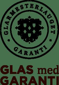 glarmesterlauget_glasmedgaranti_sort