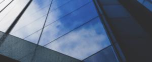 bygning glasfacade