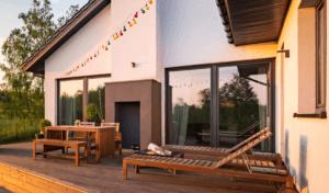 alu-døre til terrasse