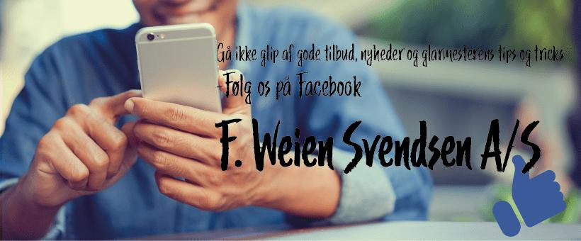 følg F: weien svendsen på Facebook